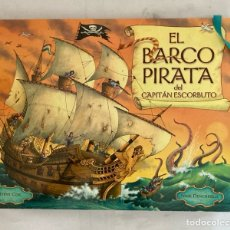 "Libros: LIBRO, "" EL BARCO PIRATA DEL CAPITÁN ESCORBUTO "" TAPA DURA , DESPLEGABLES,. Lote 283173363"