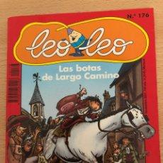 Libros: LEO LEO 176 MAS BOTAS DE LARGO CAMINO - EMILE BRAVO (SPIROU) BAYARD. Lote 284449688