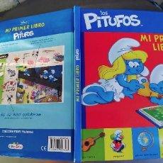 Libros: LOS PITUFOS - MI PRIMER LIBRO - COLECCIÓN PITUFO PALABRAS - LIBRODIVO (2011). Lote 289892373