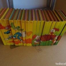 Libros: BIBLIOTECA JOVENES CASTORES COMPLETA - MONTENA AÑO 1984. Lote 293434798