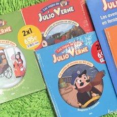 Libros: CUENTO JULIO VERNE LA VUELTA AL MUNDO EN 80 DÍAS COMPLETA. Lote 293585713