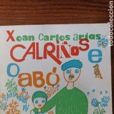 Libros: CALRIÑOS E O ABO. Lote 295910743