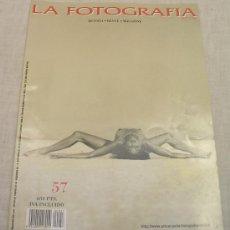 Libros: LA FOTOGRAFÍA ACTUAL - REVISTA - REVUE - MAGAZINE; NÚMERO 57; OCTUBRE/NOVIEMBRE 1996; A ESTRENAR. Lote 22195207