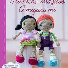 Libros: LABORES. GANCHILLO. MUÑECOS MÁGICOS AMIGURUMI - MARI-LIIS LILLE. Lote 68996397