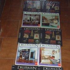 Libros: DECORACION IDEAS Y AMBIENTES 7 VOLÚMENES DE DECORACIÓN DE ORBIS FABBRI.. Lote 79174989