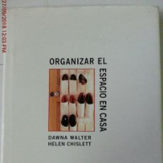 Libros: ORGANIZAR EL ESPACIO EN CASA. Lote 135134446