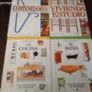 Libros: LOTE 4 LIBROS SOBRE CONTENEDORES, COCINA, BAÑO Y VIVIENDA ESTUDIO. TAMBIEN POR SEPARADO.. Lote 152682154