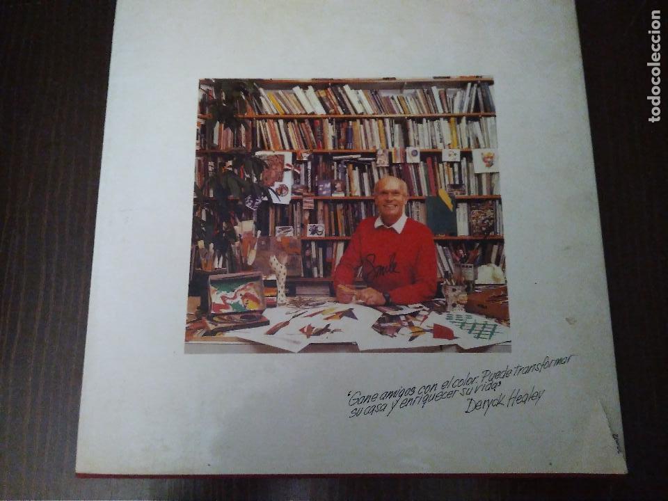 Libros: Color en Decoracion. Libro año 1984, 167 Páginas. Circulo de lectores. Deryck Healey - Foto 2 - 152681614