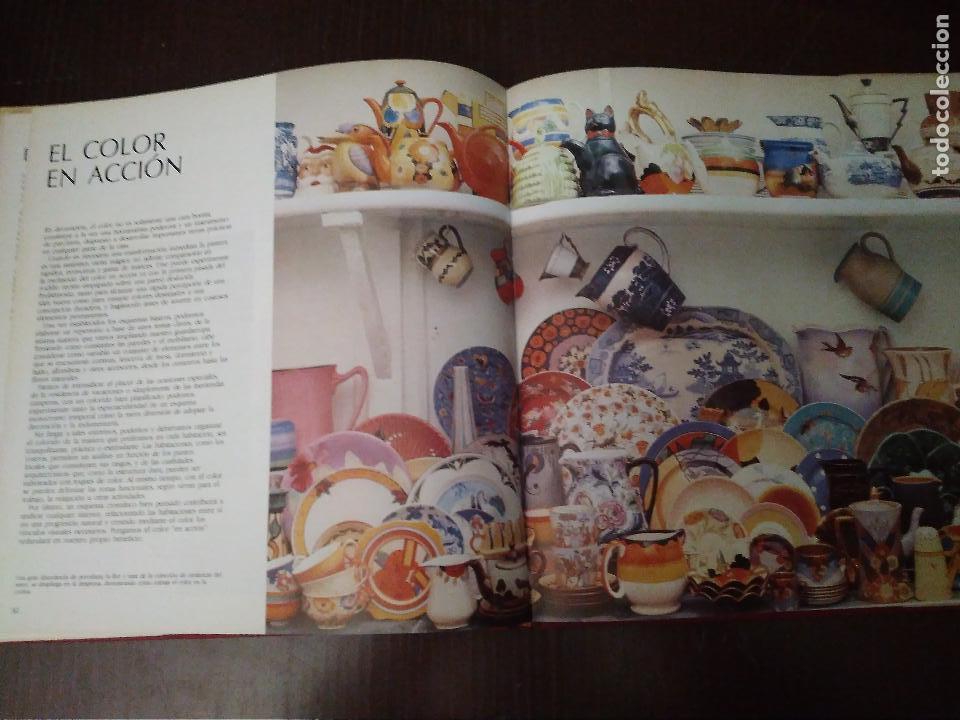 Libros: Color en Decoracion. Libro año 1984, 167 Páginas. Circulo de lectores. Deryck Healey - Foto 5 - 152681614