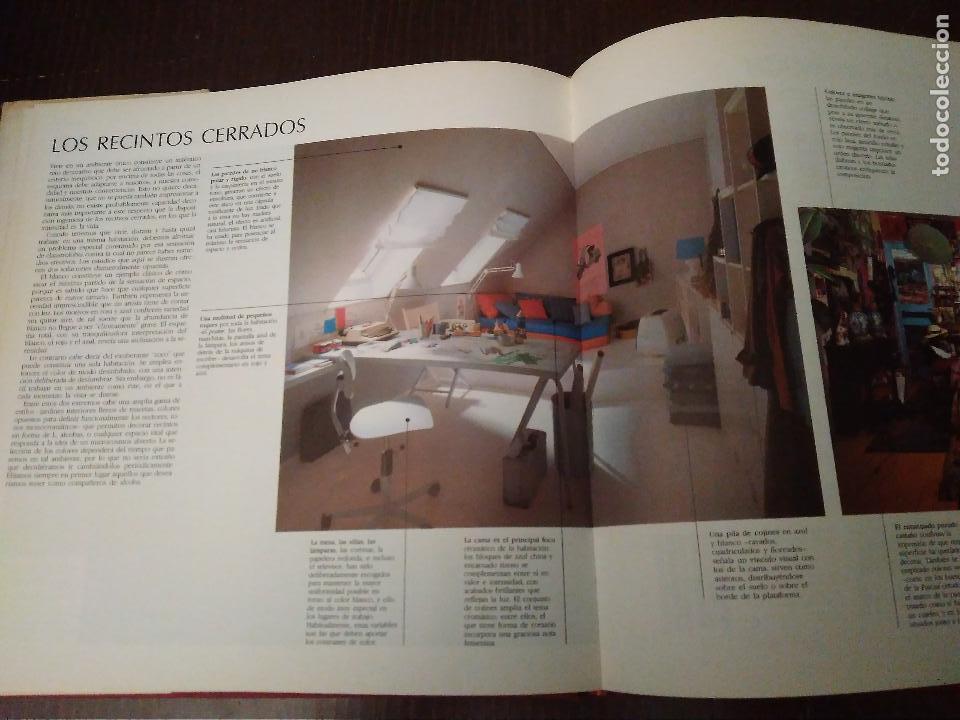 Libros: Color en Decoracion. Libro año 1984, 167 Páginas. Circulo de lectores. Deryck Healey - Foto 6 - 152681614