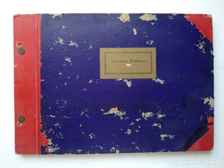 25 LÁMINAS SELECCIÓN MOBILIARIOS. AÑOS 40-50 (Libros Nuevos - Bellas Artes, ocio y coleccionismo - Decoración)