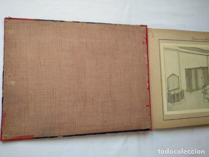 Libros: 25 láminas selección mobiliarios. Años 40-50 - Foto 2 - 167823896