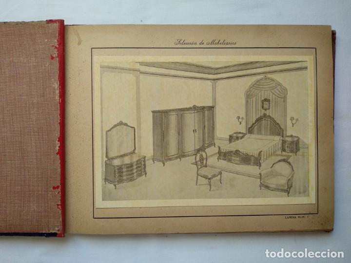 Libros: 25 láminas selección mobiliarios. Años 40-50 - Foto 3 - 167823896