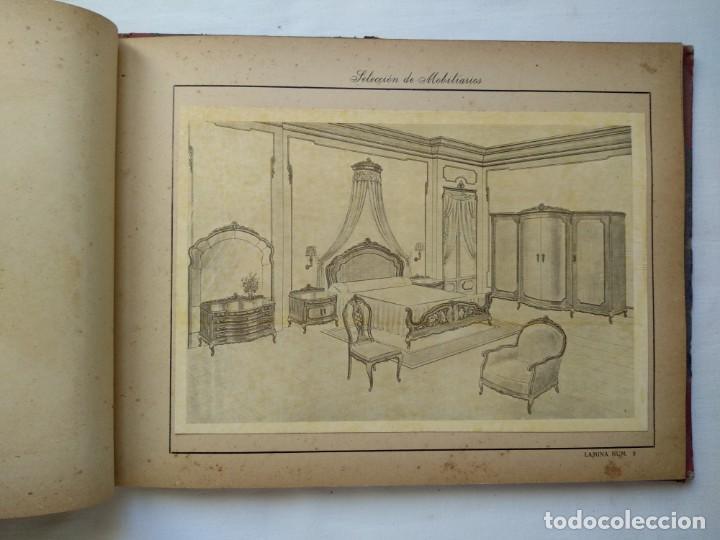 Libros: 25 láminas selección mobiliarios. Años 40-50 - Foto 4 - 167823896
