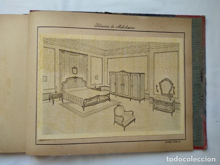 Libros: 25 láminas selección mobiliarios. Años 40-50 - Foto 5 - 167823896