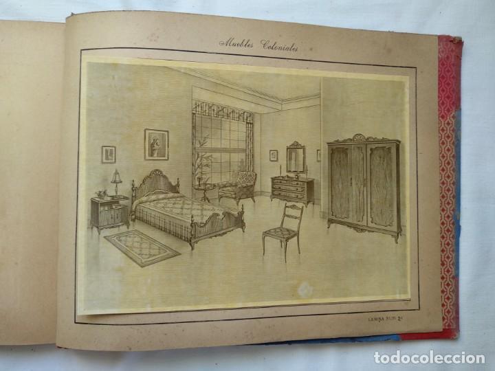 Libros: Muebles coloniales. 24 laminas. Años 40-50 - Foto 4 - 167824452