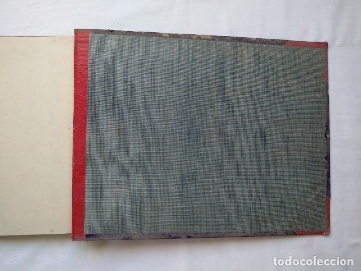Libros: Trabajo de carpintería en construcción y decoración. 40 láminas años 40-50 - Foto 6 - 167824868