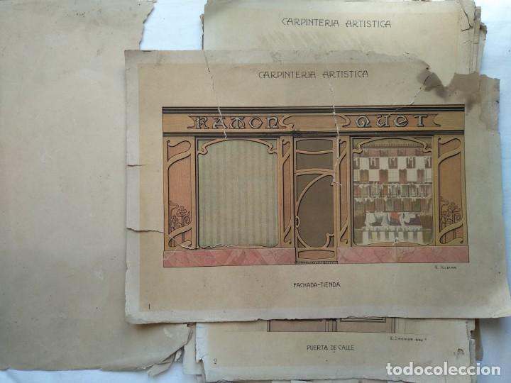 Libros: Carpintería artística. Andrés Audet y Puig año 1900-1930 - Foto 2 - 167826472