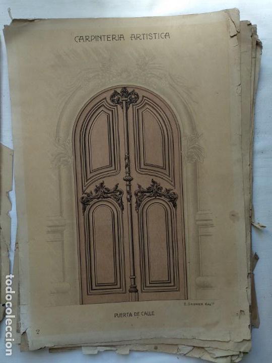 Libros: Carpintería artística. Andrés Audet y Puig año 1900-1930 - Foto 3 - 167826472