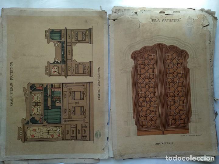Libros: Carpintería artística. Andrés Audet y Puig año 1900-1930 - Foto 4 - 167826472