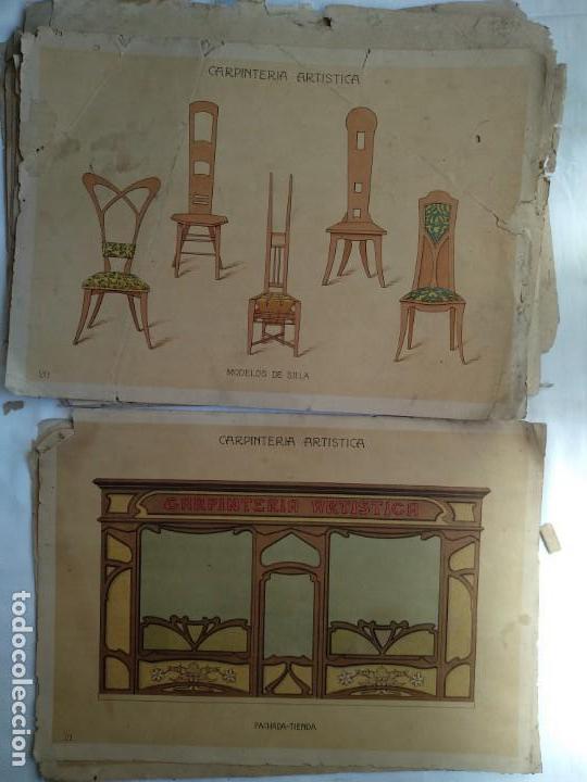 Libros: Carpintería artística. Andrés Audet y Puig año 1900-1930 - Foto 11 - 167826472
