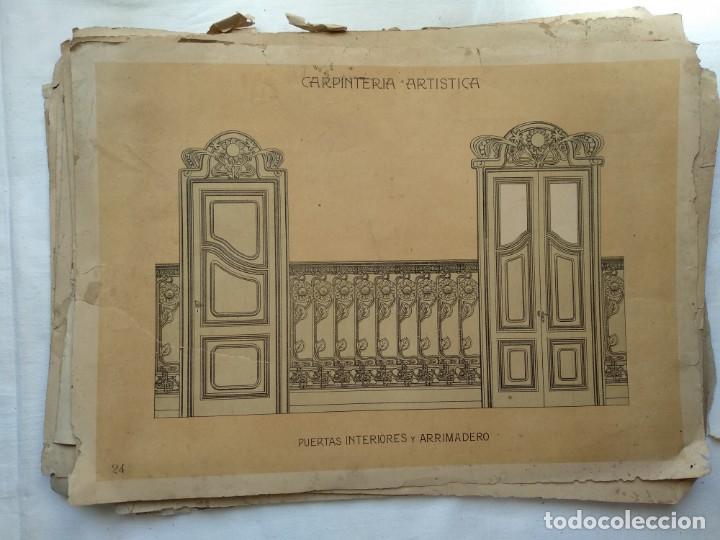 Libros: Carpintería artística. Andrés Audet y Puig año 1900-1930 - Foto 13 - 167826472