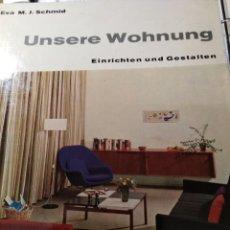 Libros: UNSERE WOHNUNG. Lote 172616909