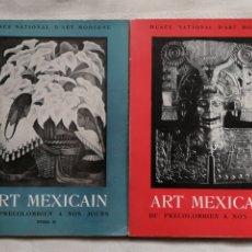 Libros: ART MÉXICAIN DU PRÉCOLOMBIEN À NOS JOURS. 2 VOL PARIS, LES PRESSES ARTISTIQUES. CATALOGO EXPOSICION. Lote 194388832