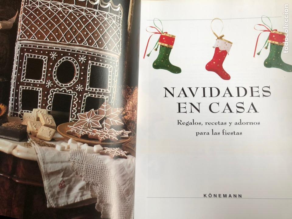 Libros: Libro Navidades En Casa. Regalos. Recetas. Adornos Para Las Fiestas - Konemann - Foto 2 - 198931467