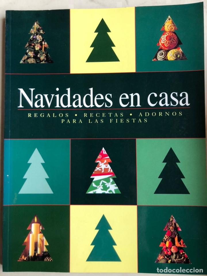 LIBRO NAVIDADES EN CASA. REGALOS. RECETAS. ADORNOS PARA LAS FIESTAS - KONEMANN (Libros Nuevos - Bellas Artes, ocio y coleccionismo - Decoración)