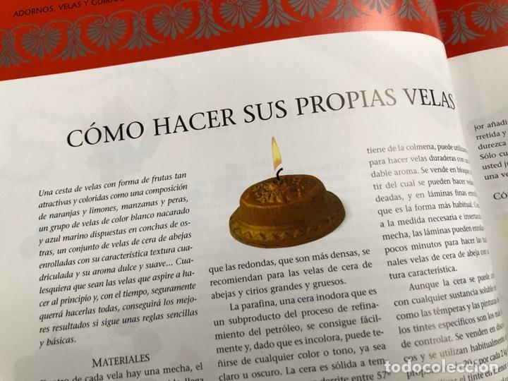 Libros: Libro ADORNOS VELAS Y GUIRNALDAS.Tatiana Suárez. Nuevo. - Foto 6 - 198935752
