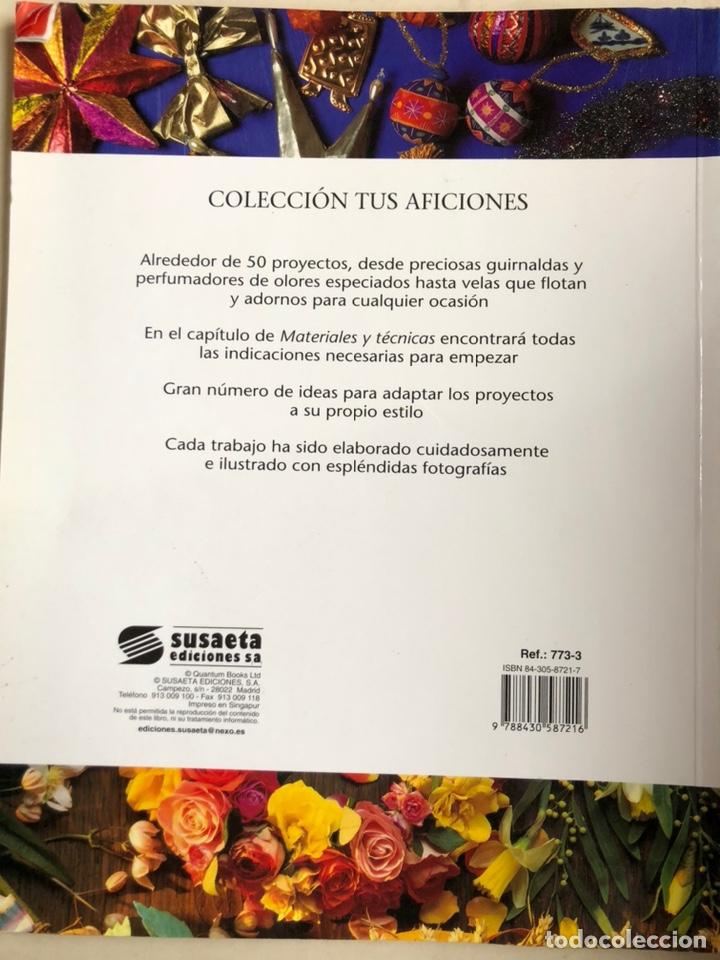 Libros: Libro ADORNOS VELAS Y GUIRNALDAS.Tatiana Suárez. Nuevo. - Foto 7 - 198935752