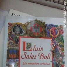 Libros: LA MINIATURA ARTISTCA DE L.S.BOLI. Lote 199299328