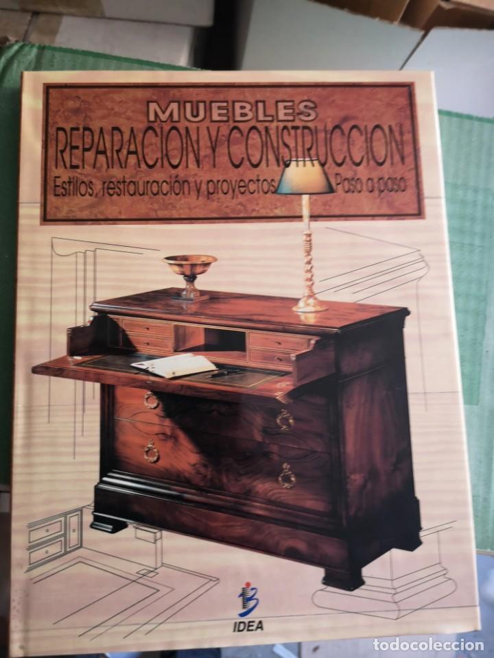 MUEBLES, REPARACION Y CONSTRUCCION, 1 TOMO (Libros Nuevos - Bellas Artes, ocio y coleccionismo - Decoración)