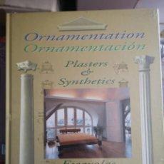 Libros: ORNAMENTACION, ESCAYOLAS Y SINTETICOS - 1 TOMO. Lote 204733441