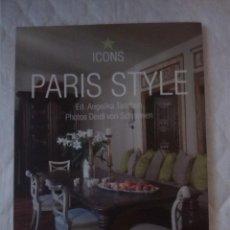 Libros: PARIS STYLE. ICONS.. Lote 205334921