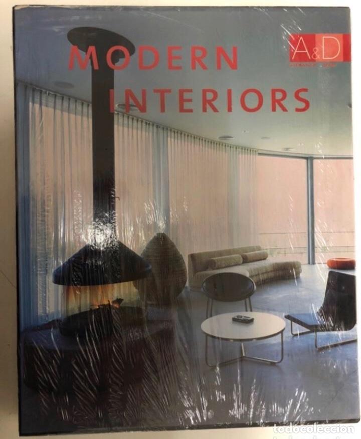 MODERN INETRIORS, ARCHITECTURAL & DESING. ED. MONSA. (Libros Nuevos - Bellas Artes, ocio y coleccionismo - Decoración)