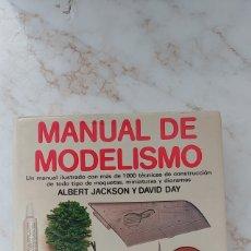 Libros: MANUAL DE MODELISMO.20€. Lote 212167388