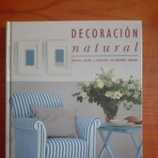 Libros: DECORACIÓN NATURAL.. Lote 212800088