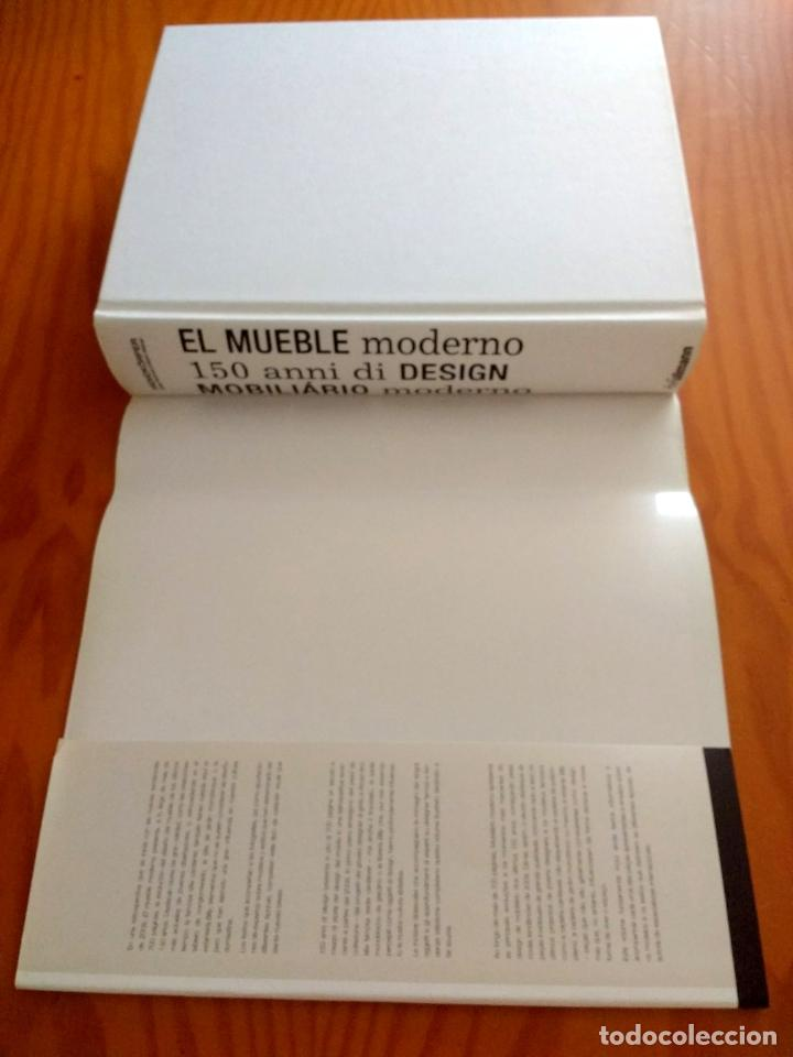 Libros: EL MUEBLE MODERNO (150 AÑOS DE DISEÑO ).FREMDKORPER ANDREA.MEHLHOSE.MARTIN WELLNER.ULLMAN. 2009 - Foto 5 - 215174976