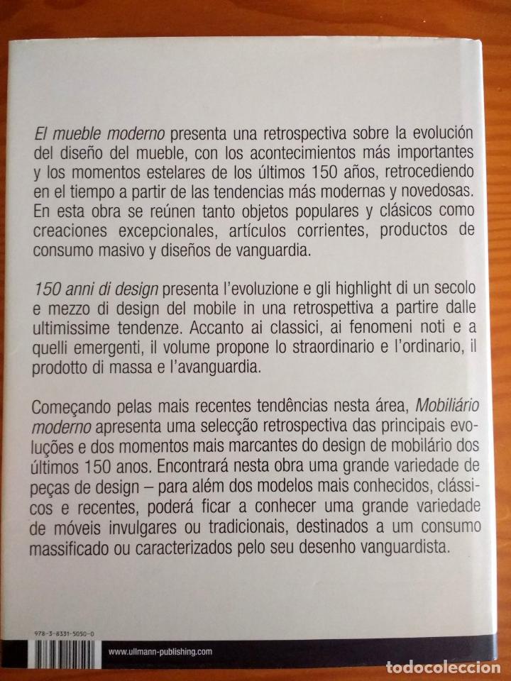 Libros: EL MUEBLE MODERNO (150 AÑOS DE DISEÑO ).FREMDKORPER ANDREA.MEHLHOSE.MARTIN WELLNER.ULLMAN. 2009 - Foto 6 - 215174976