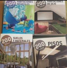 Libros: 200 TRUCOS DECORACIÓN TIKAL. Lote 215436593
