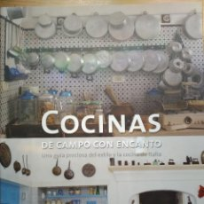 Libros: COCINAS DE CAMPO CON ENCANTO. Lote 218304665