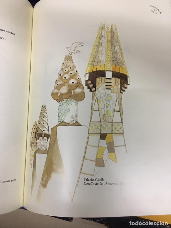 Libros: SOBREVOLANT GAUDI - CYAN EDICIONS - DOS LIBROS CON COFRE - - Foto 6 - 224571320