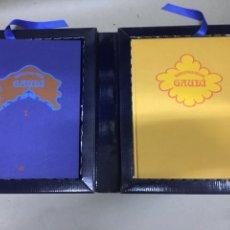 Libros: SOBREVOLANT GAUDI - CYAN EDICIONS - DOS LIBROS CON COFRE -. Lote 224571320