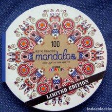 Libros: 100 NUEVAS CREACIONES MANDALAS -VV.AA. - EDITORIAL LANTAARN -NUEVO, PARA REGALAR. Lote 229825320