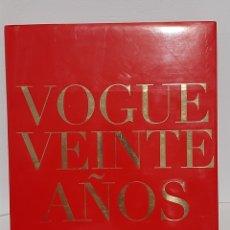 Libros: VOGUE VENTE AÑOS. Lote 243120465