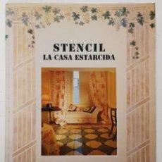 Libros: STENCIL. LA CASA ESTARCIDA (LYN LE GRICE) - ACANTO. Lote 249193870