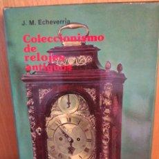 Libros: COLECCIONISMO DE RELOJES ANTIGUOS. Lote 262090455