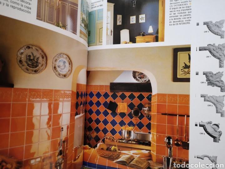 Libros: Ornamentacion, escayolas y sinteticos - 1 tomo - Foto 7 - 268786329